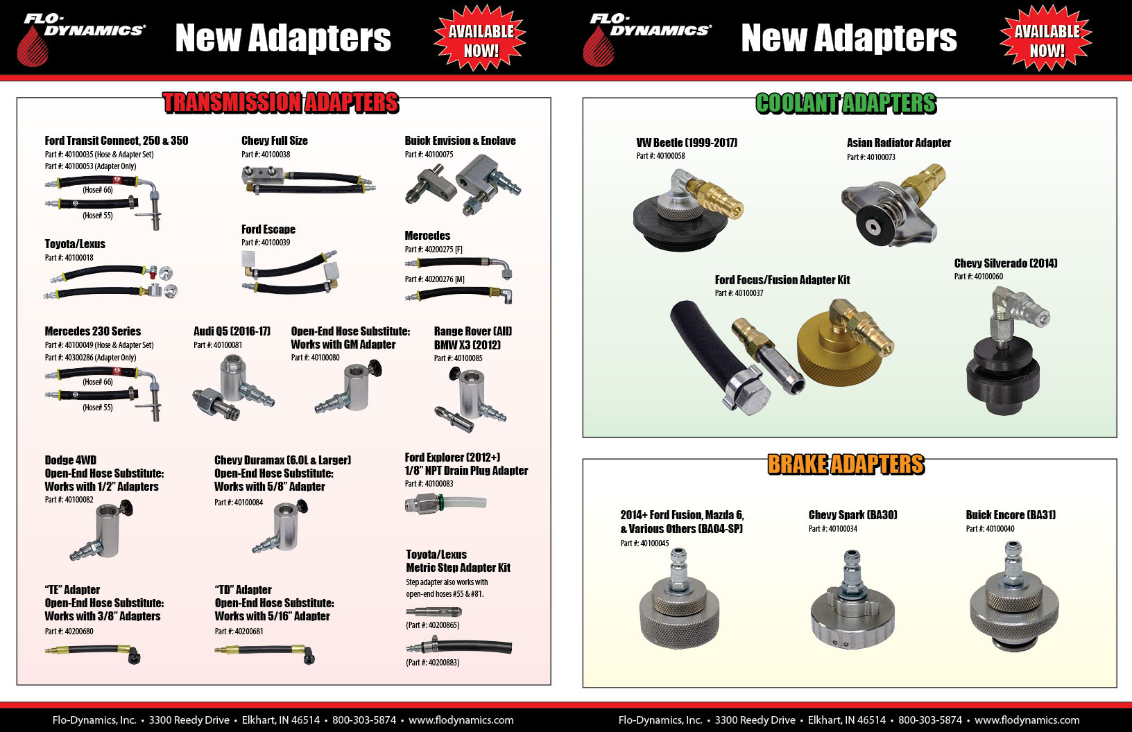 New Adapters